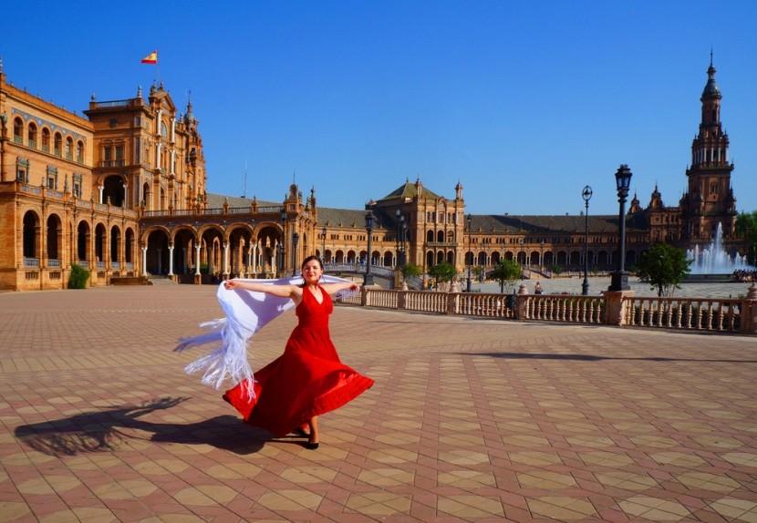 Smyslné Flamenco v Andalusii