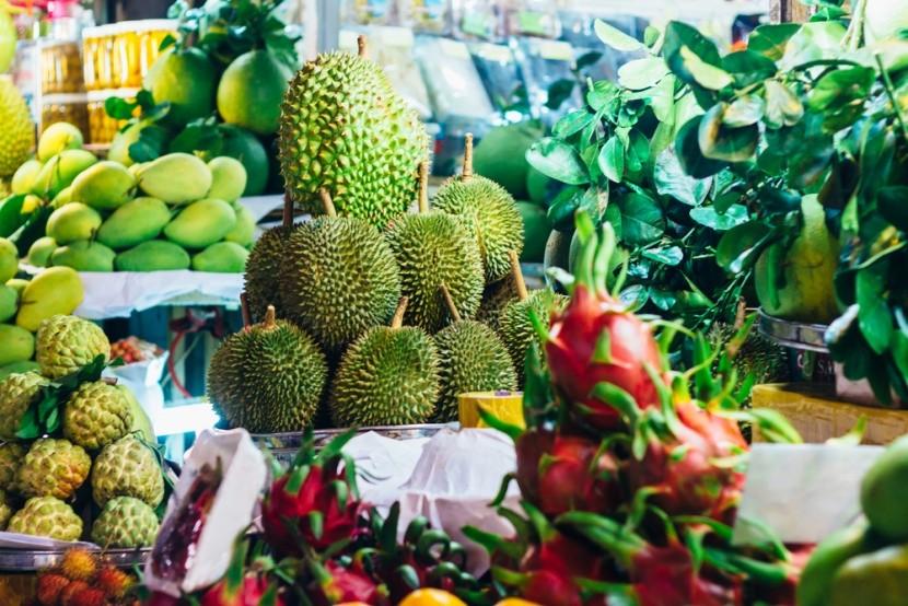 Ovocné trhy ve Vietnamu