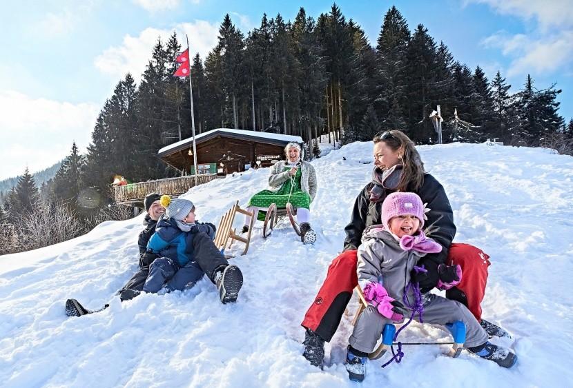 Bavorské Alpy si zamilují i rodiny