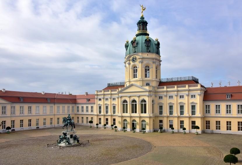 Berlín, zámek Charlottenburg