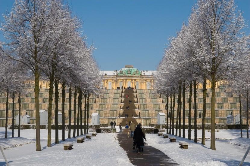 Postupim, zámek Sanssouci