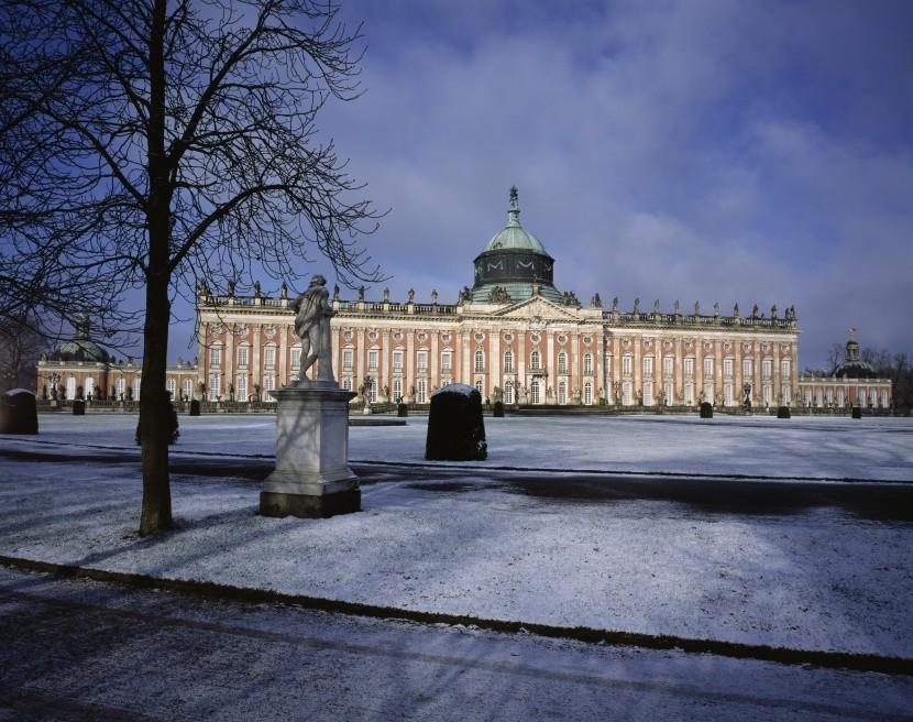 Park Sanssouci, Nový palác