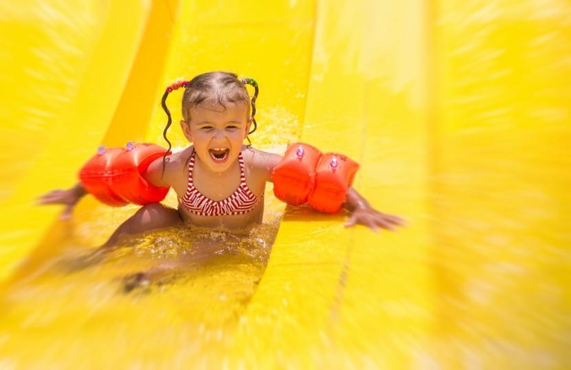 Pro děti jsou ideální destinace s aquaparky