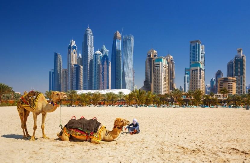 Megalomanská Dubaj vyrostla uprostřed pouště