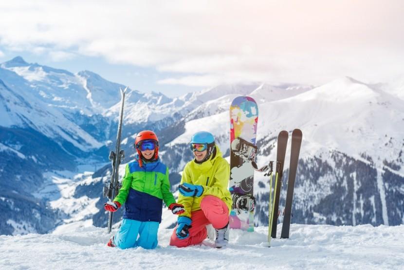 Z lyžovačky v rakouských Alpách se nebudete c