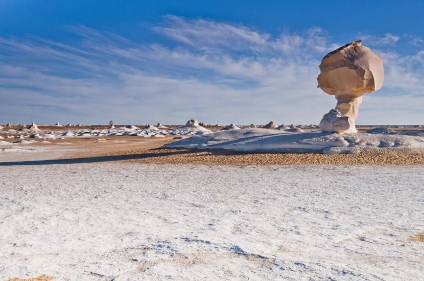 Bílá poušť, Egypt