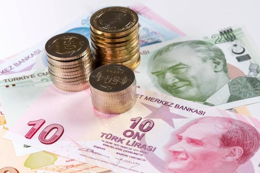 Turecká lira - bankovky a mince