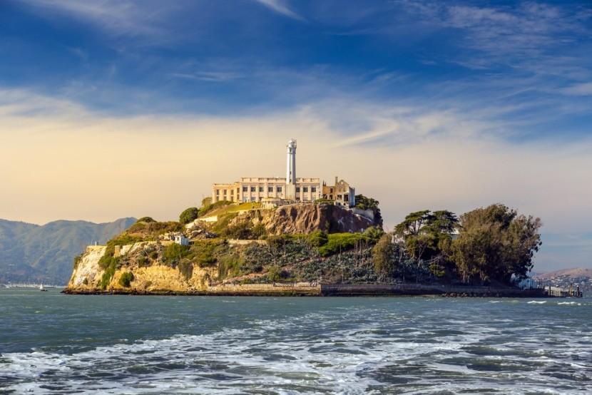 Věznice Alcatraz v Kalifornii