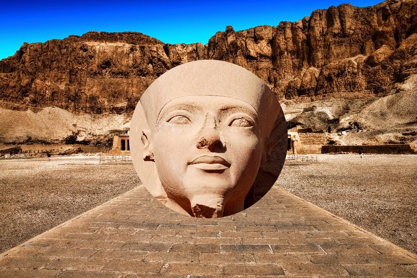 Královna Hatšepsut, Luxor, Egypt