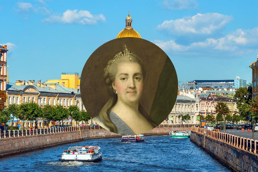 Kateřina Veliká, Petrohrad, Rusko