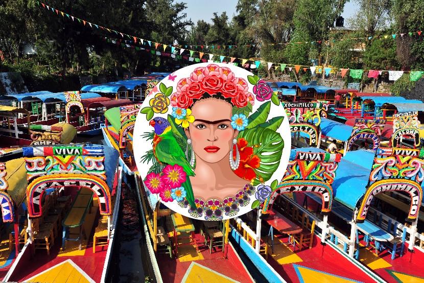 Frida Kahlo, Mexico City