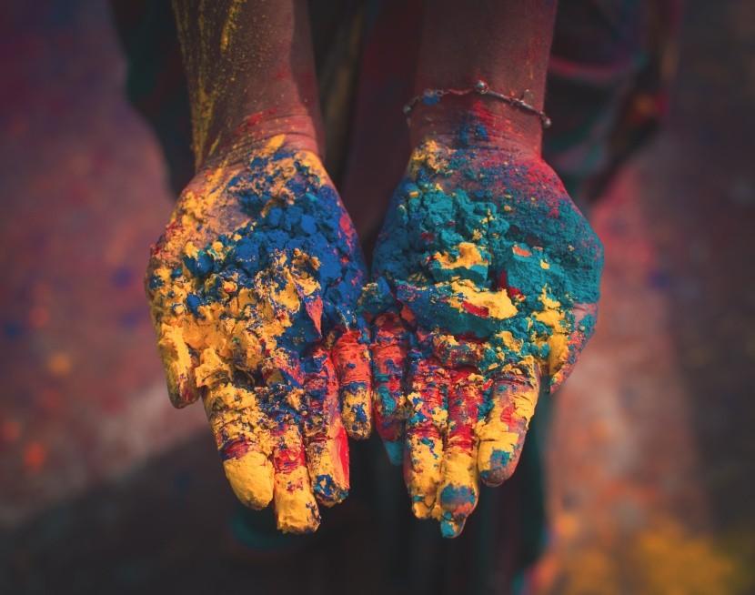 Oslava barev Holi se slaví po celém světě