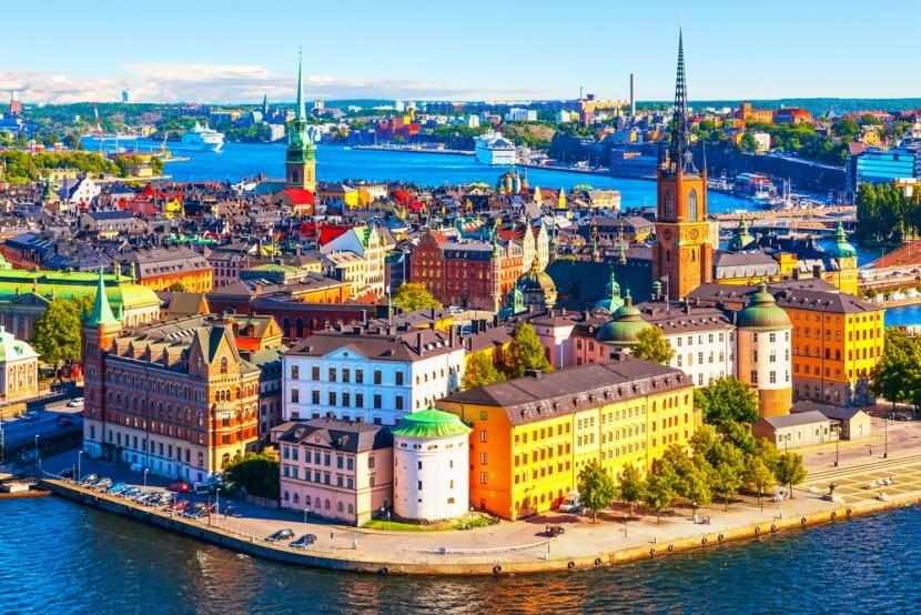 Královské město Stockholm ve Švédsku