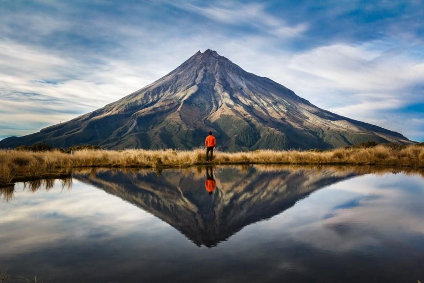 Dechberoucí hory na Novém Zélandu