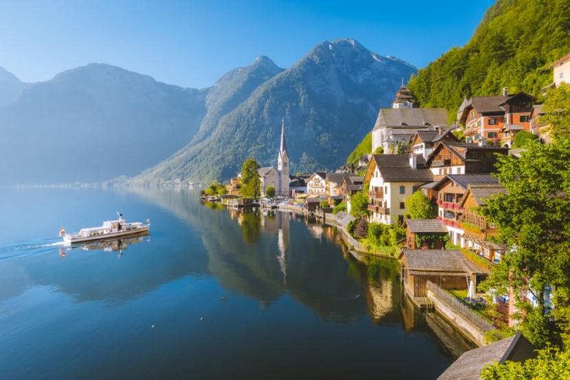 Jezera a hory v Rakousku