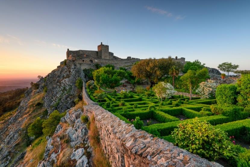 Malebná středověká městečka a hrady v Alentej