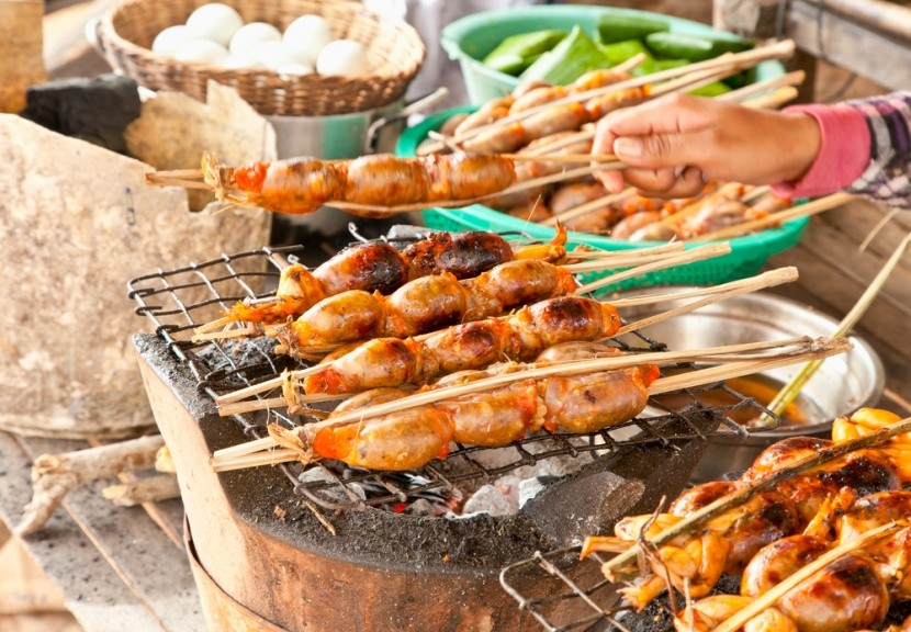 Street food v Kambodži