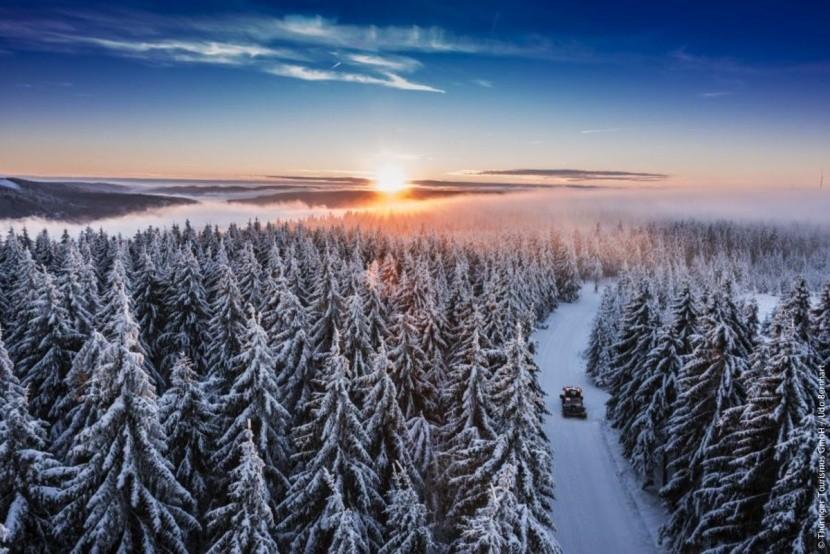 Durynsko je krásné i v zimě