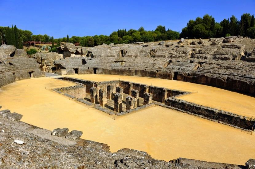 Ruiny Itálica alias Dračí doupě