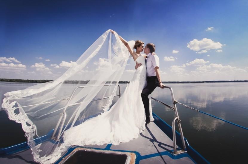 Svatba na lodi je krásným zážitkem