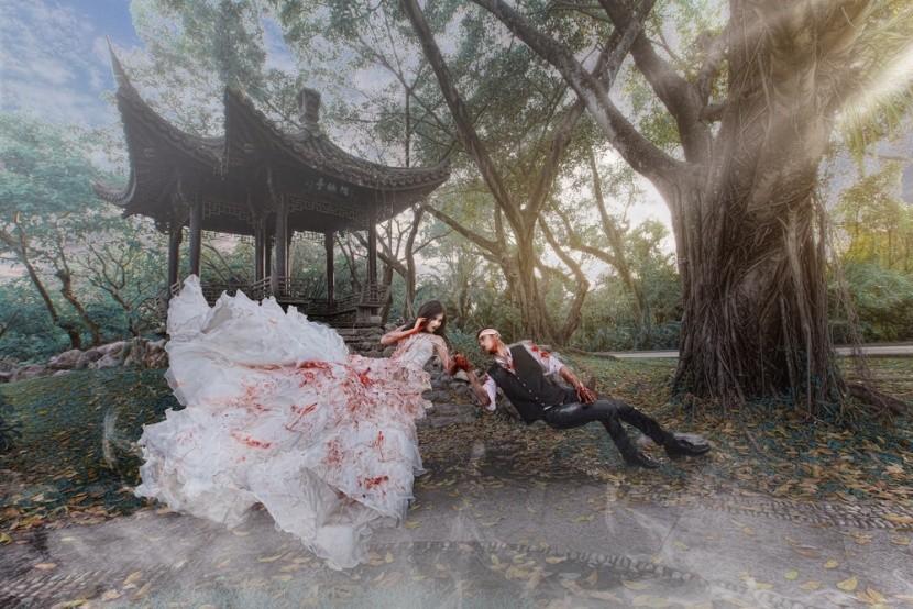 Je libo strašidelnou či netradiční svatbu?