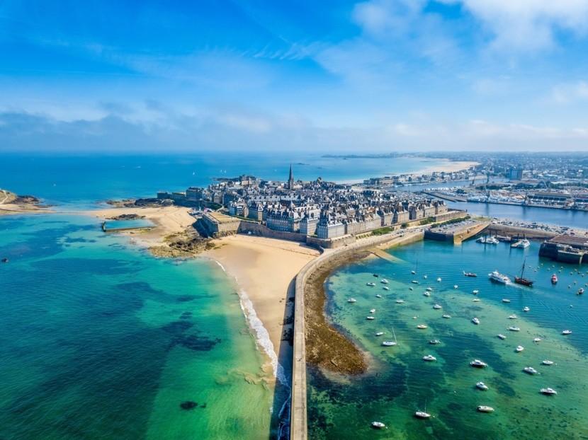 Saint Malo, Bretaň, Francie