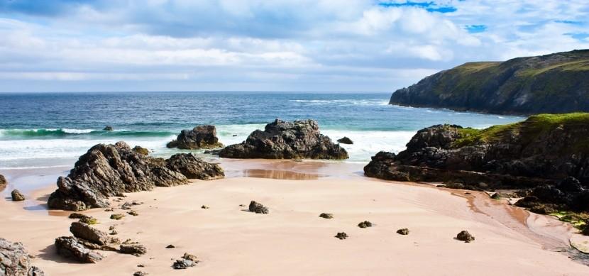 pláž Sandwood Bay, Skotsko