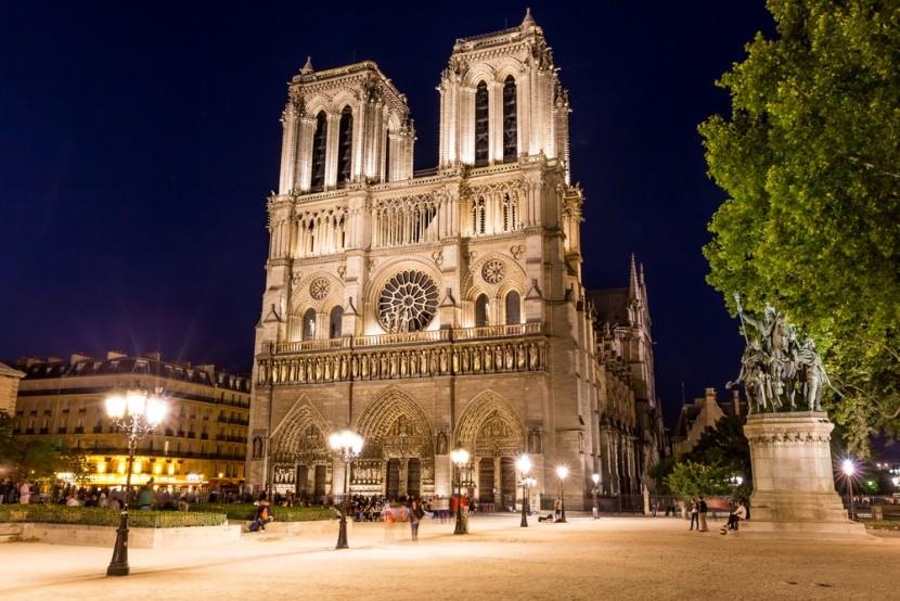 Na střeše Notre Dame bydlí včely.
