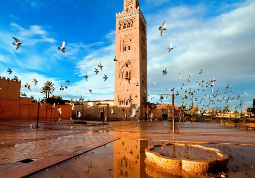 Mešita Koutoubia, Marrakéš, Maroko