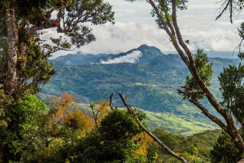 Sopka Barú a mlžný prales, Panama