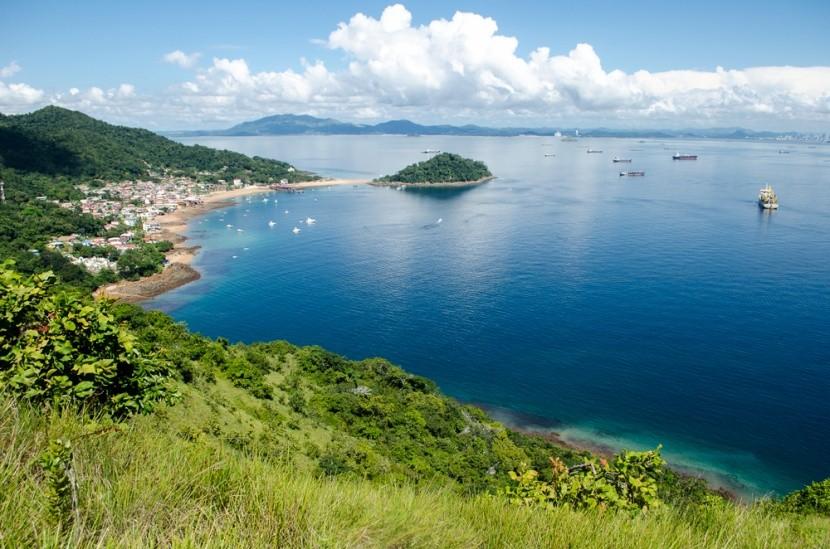 Ostrov Taboga, oblíbené výletní místo, Panama
