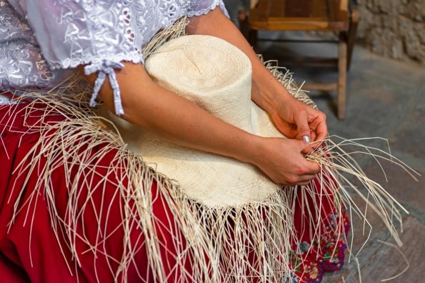 Ručně dělané panamské klobouky