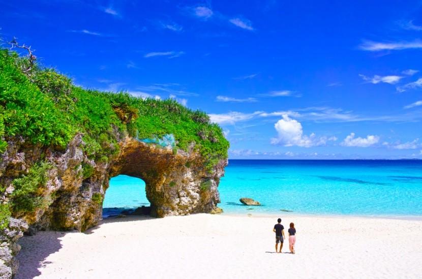 Na japonském ostrově Miyako jsou božské pláže