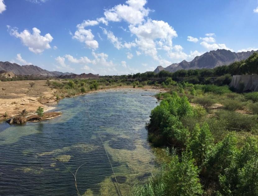 Pohoří Hatta, pás Hadžar v Dubaji