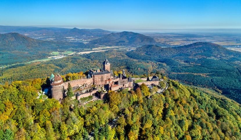 Hrady v Alsasku jsou pohádkové