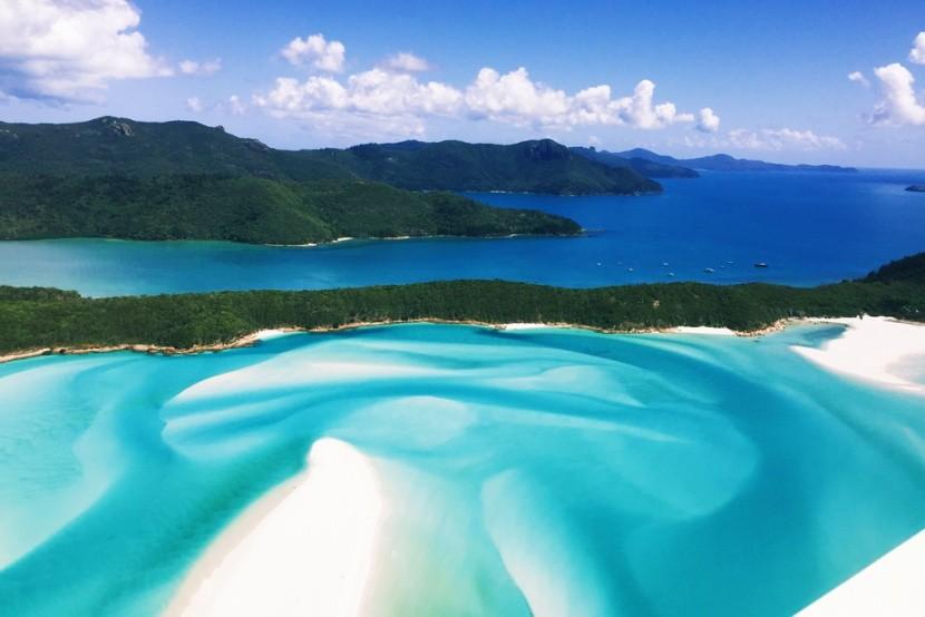 Pláž Whitehaven, Queensland, Austrálie