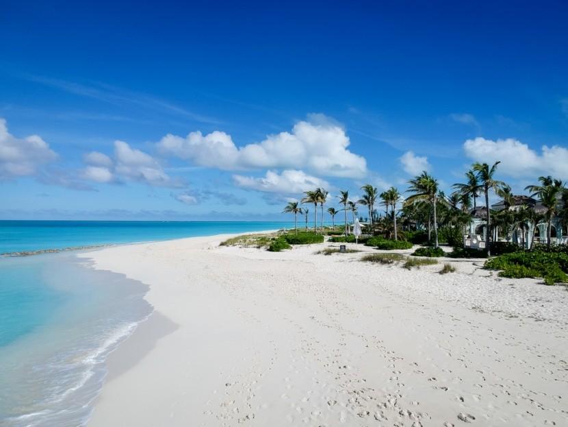Záliv Grace, ostrovy Turks a Caicos