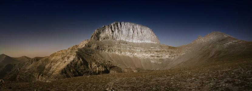 Na hoře Olymp je bájné sídlo řeckých bohů