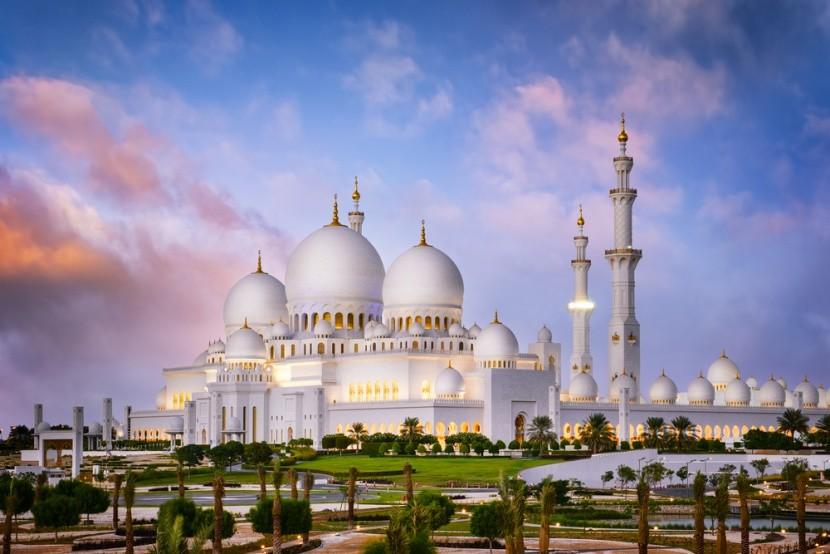 Velká mešita šejka Zayeda v Abu Dhabí