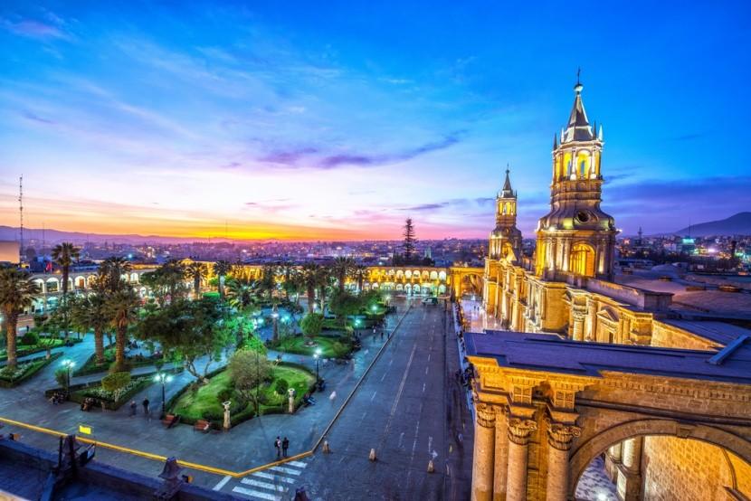 Koloniální město Arequipa