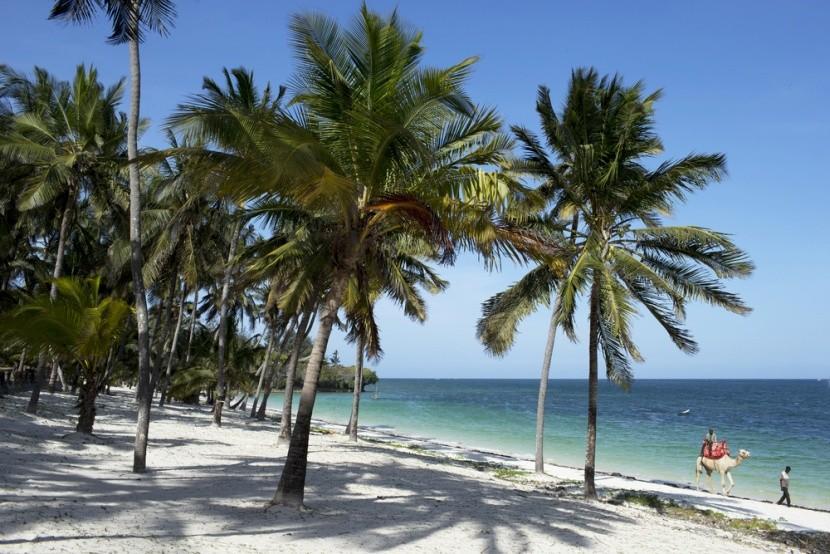 Pláž Mombasa v Keni