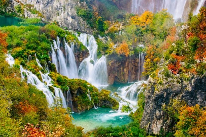 Dechberoucí krása Plitvických jezer