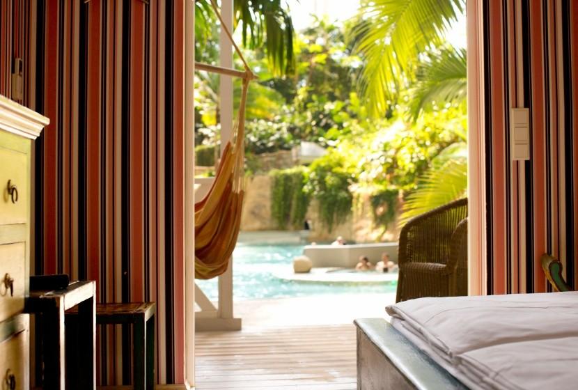 Prázdninové domky v Tropical Islands