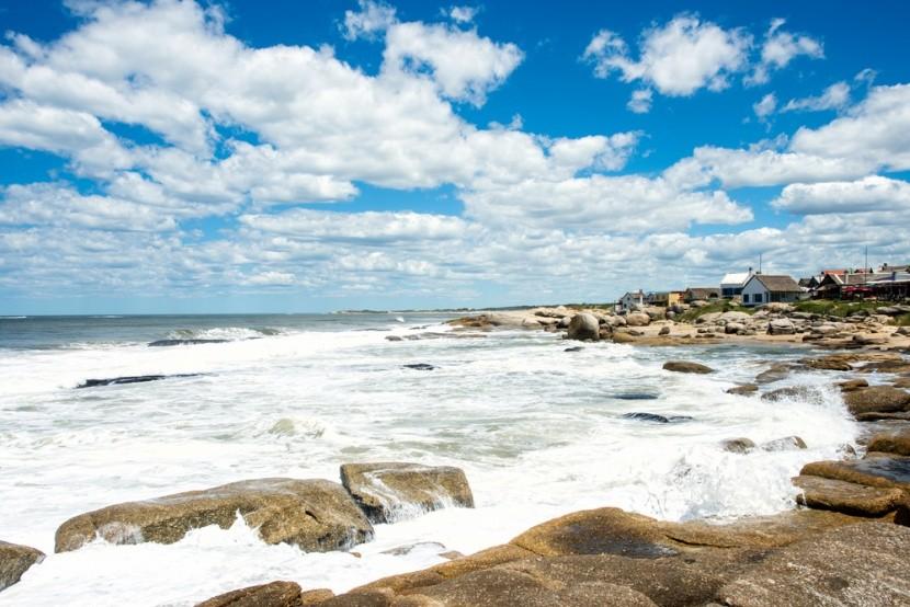 Pláž Punta del Diablo, Uruguay