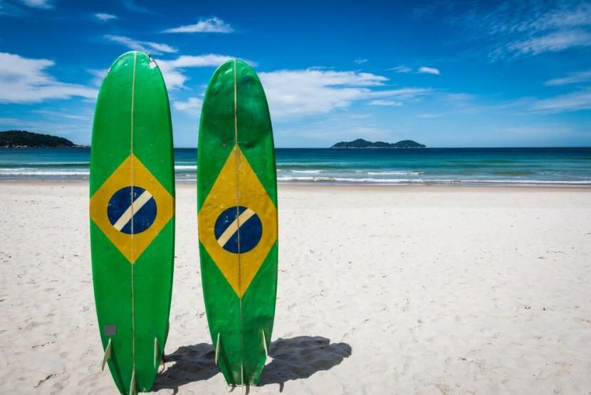 Lopes Mendes, Ilha Grande, Brazílie