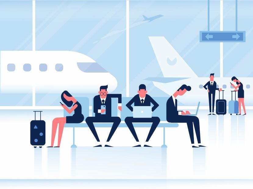 Dostatek pracovních zón na letišti