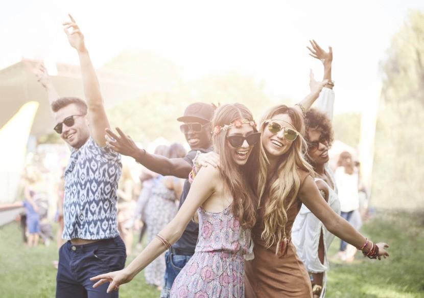 Letní festivalová atmosféra