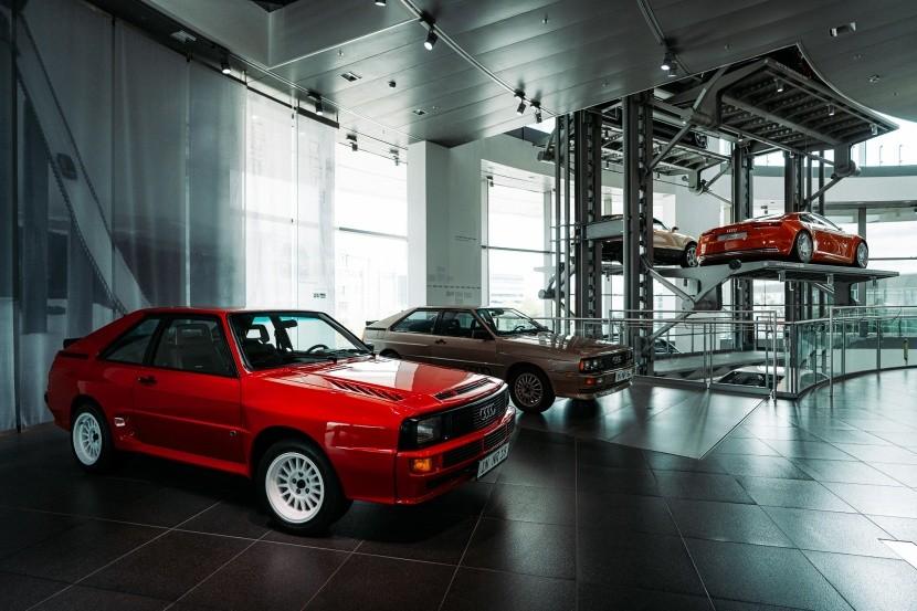 Staré modely Audi