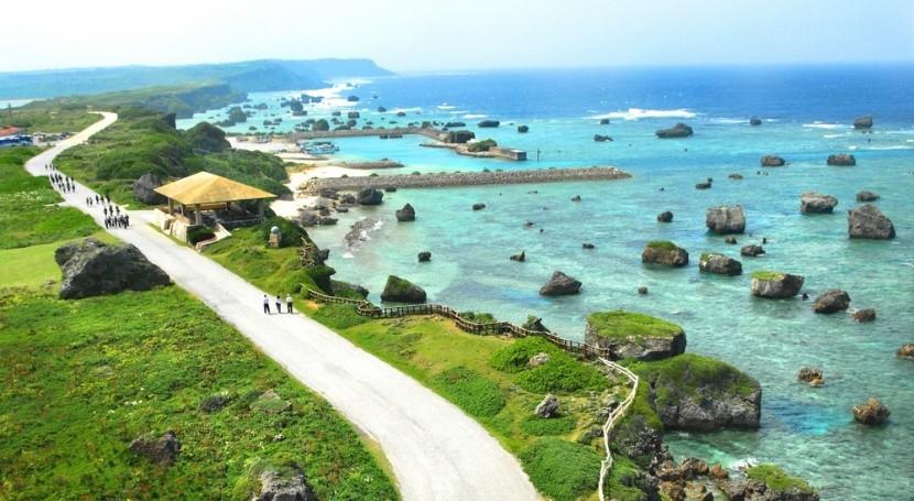 Harmonie japonského ostrova Okinawa