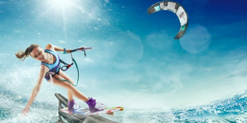 Dovolená se surfkitingem